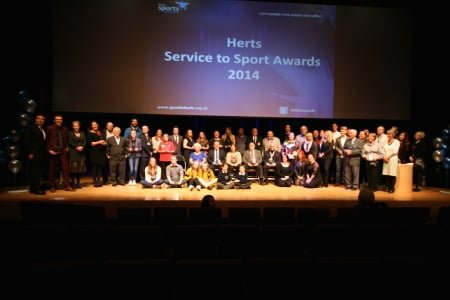 Hertfordshire Sports Awards Community Club Of The Year