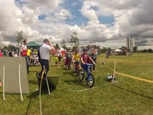 A Go Ride event in a field